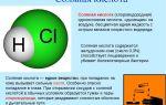 Хлористый водород (соляная кислота)