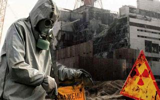 Катастрофа на чернобыльской аэс. радиационные аварии.