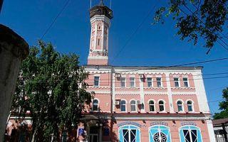Пожарная каланча г. оренбурга