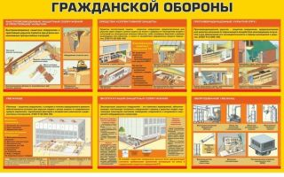 Защитные сооружения гражданской обороны и их оборудование