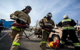 Проведение специальных работ на пожаре