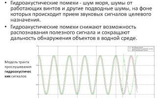 Гидроакустические помехи. определение. виды. частотный спектр.