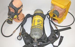Дыхательный аппарат со сжатым воздухом (дасв)