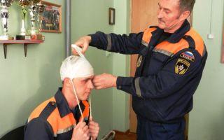Медицинская подготовка пожарных
