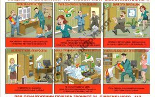Пожарная безопасность на рабочем месте: правила и требования