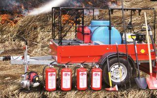 Лесопожарная техника и оборудование: для борьба с пожарами
