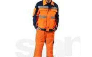 Спецодежда и костюмы с огнезащитной пропиткой: требования