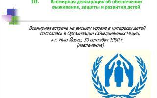 Амманская декларация по гражданской защите