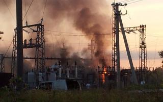 Аварии на электроэнергетических системах
