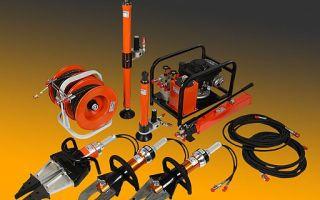 Аварийно-спасательный переносной инструмент с приводом