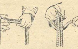Вязка двойной спасательной петли разными способами