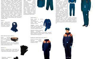 Форма одежды сотрудников мчс россии: виды и правила ношения
