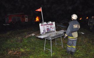 Подготовка пожарных в условиях ночи и ограниченной видимости