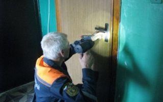 В каких случаях вызывают спасателей на вскрытие входной двери