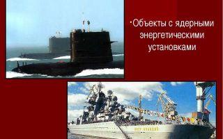 Авария на объектах с атомными (ядерными) энергетическими установками