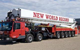 Самый высокий в мире коленчатый подъёмник