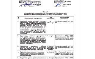 Настольная книга (пособие) председателя кчс и опб, 2018 год