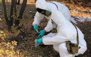 Авария с выбросом опасных биологических веществ