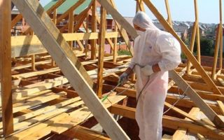 Огнезащита древесины: средства и способы