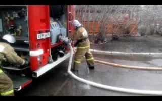 Патрубок для заправки пожарного автомобиля (ац) водой