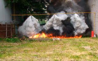 Огнетушащие порошки: виды, состав, недостатки, утилизация