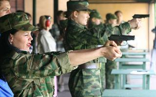 Женщины на военной службе