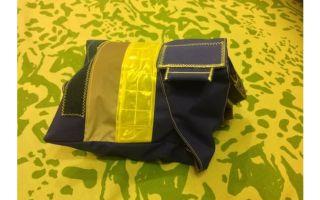 Чехол-сумка для панорамной маски сизод своими руками.