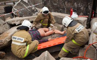 Аварийно и поисково-спасательные работы в условиях завалов