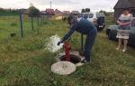 Проверка пожарных гидрантов, водоемов и водонапорных башен