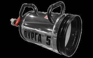 Установка комбинированного тушения пурга-7: ттх и применение
