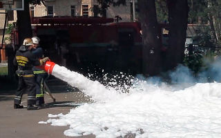 Основоположники пенного пожаротушения