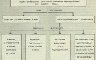 Основы управления силами и средствами на пожаре.