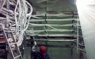 Защита от огня кабелей и кабельных линий