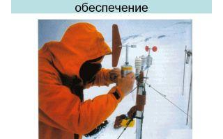 Гидрометеорологическое обеспечение. определение.