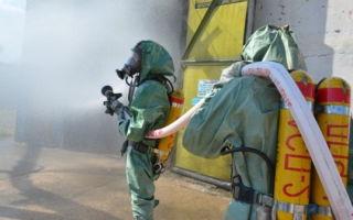 Участники боевых действий по тушению пожаров