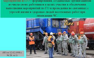 Транспортное обеспечение сил и мероприятий гражданской обороны