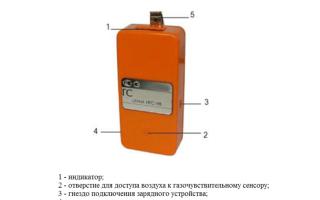 Газоанализатор астра-в игс-98 дельта (газосигнализатор)
