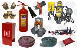 Снаряжение пожарных и спасателей