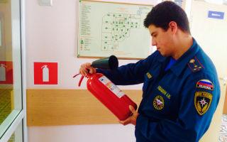 Пожарная проверка организаций сотрудником мчс: от а до я