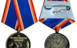 Медаль мчс россии за предупреждение пожаров: описание и фото