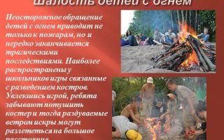 Детская шалость с огнем: причина пожара и последствия