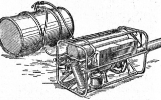 Аэрозольный генератор переносной (агп)