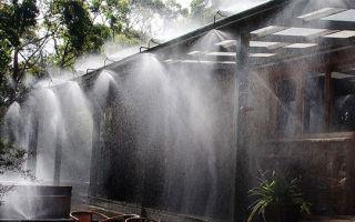 Водяная завеса от пожара