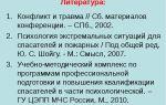 Психология экстремальных ситуаций для пожарных и спасателей ред. ю.с. шойгу москва 2007