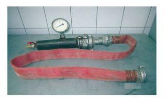 Прибор измерения давления водопроводной сети