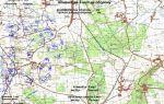 Рабочая карта командира (офицера штаба)